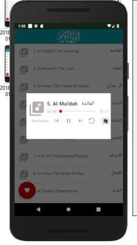 الحصري قران كريم كامل بدون نت Hossary Quran mp3 imagem de tela 5