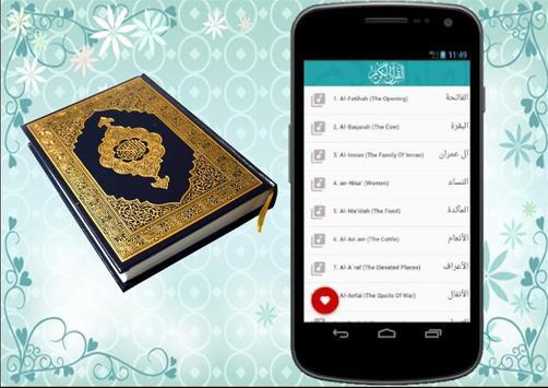 المنشاوي قران كامل بدون انترنت Menshawy Holy Quran imagem de tela 8