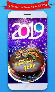Name On New Year Cake 2019 screenshot 1