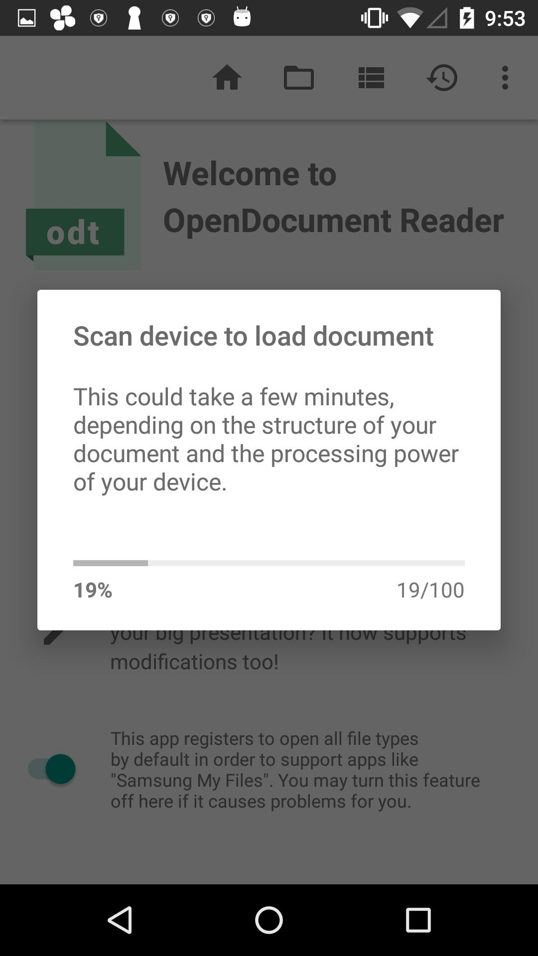 OpenOffice - LibreOffice - OpenDocument Reader for Android
