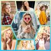 fotocollage - foto-editor en fotolijst-icoon
