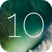 Lock Screen IOS 10 - Phone7 icon