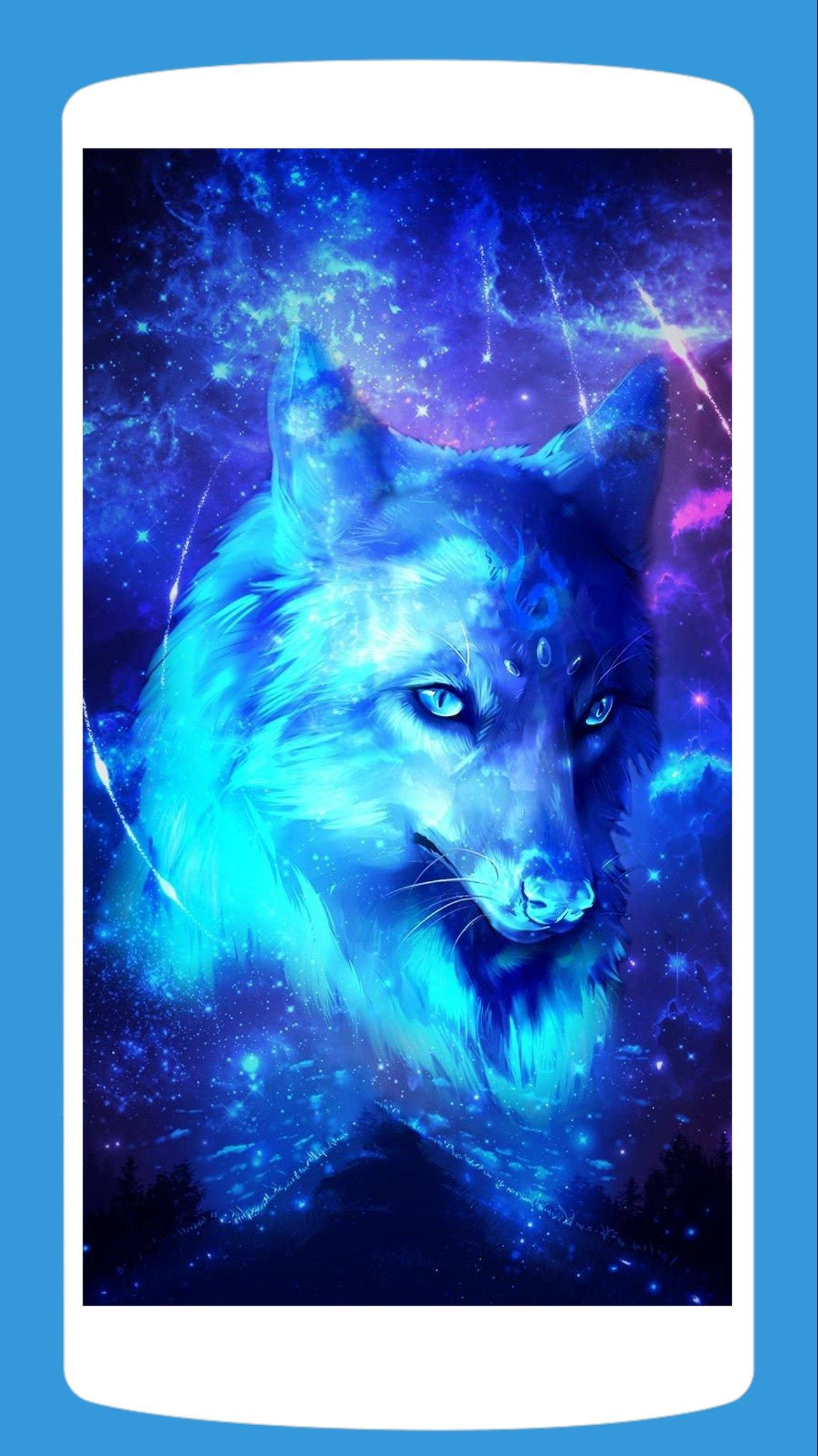 Galaxy Wolf Wallpaper Hd 4k For Android Apk Download