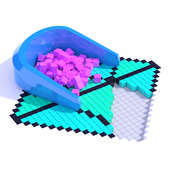 Fill In 3D icon
