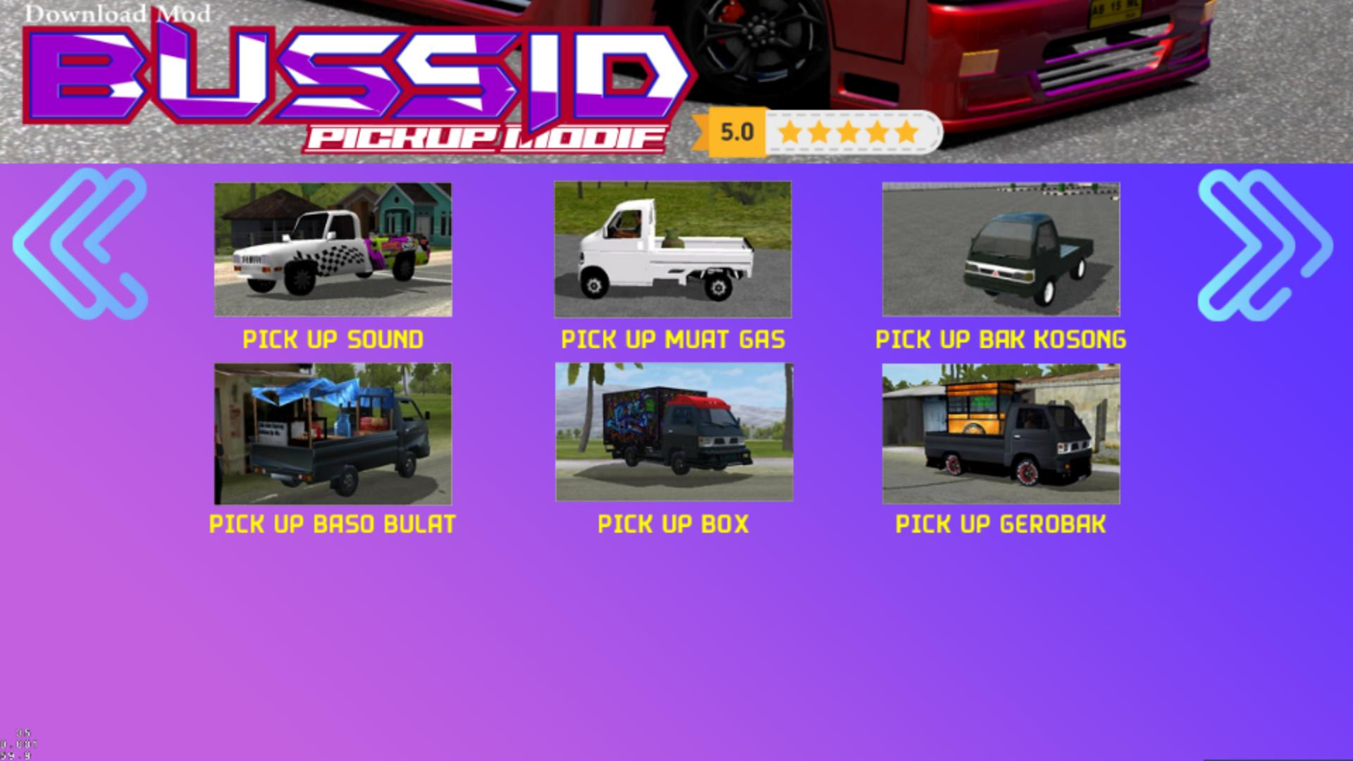 Mod Bussid Pick Up Terpal For Android Apk Download