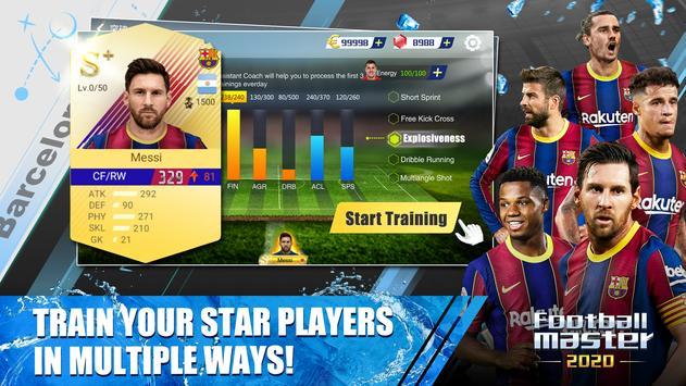 Football Master 2020 captura de pantalla 1