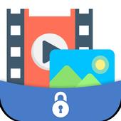 hide photo, video icon