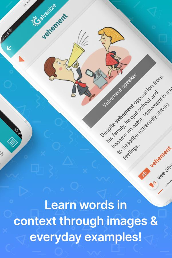 English Vocabulary Builder for GRE® & all exams for Android