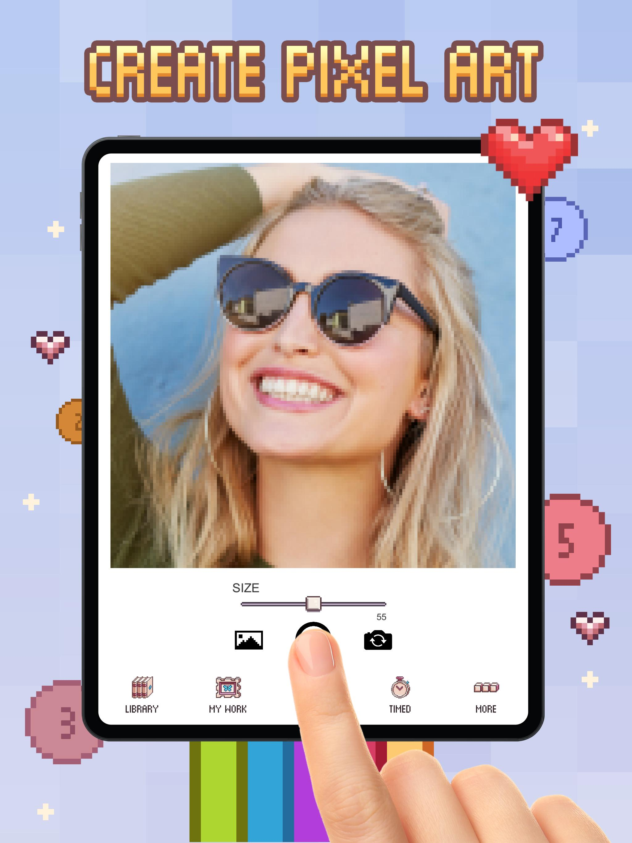 Color By Number Love Pixel For Android Apk Download