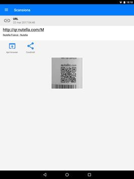 19 Schermata QR & Barcode Scanner