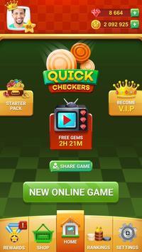 Checkers Online - Quick Checkers 2020 screenshot 1