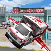 Multilevel Flying Ambulance HD icon