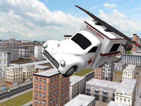 Multilevel Flying Ambulance HD apk screenshot