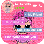 Chat With Surprise Dolls lol - Simulation icon
