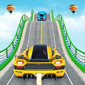 Mega rampa carro corrida stunts 3D: carro jogos ícone