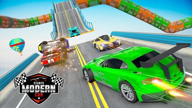 Mega rampa carro corrida stunts 3D: carro jogos imagem de tela 10