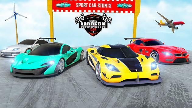 Mega rampa carro corrida stunts 3D: carro jogos imagem de tela 14