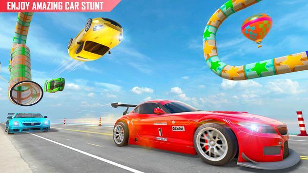 Mega rampa carro corrida stunts 3D: carro jogos imagem de tela 1