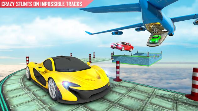 Mega rampa carro corrida stunts 3D: carro jogos imagem de tela 2