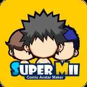 Download App Entertainment antagonis android SuperMii- Make Comic Sticker terbaik