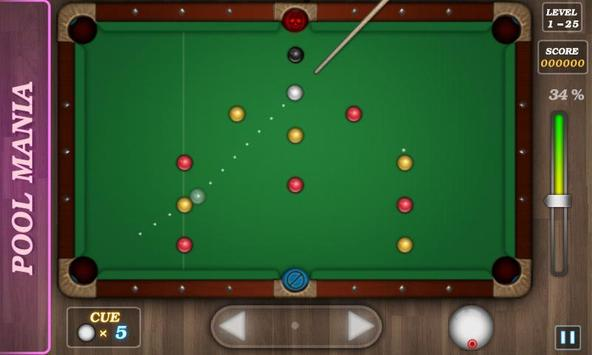 Pool Mania screenshot 1