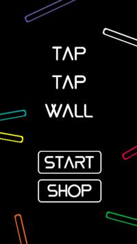 Tap Tap Wall poster