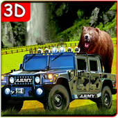 Offroad Army Truck Animal Transport Simulator icon