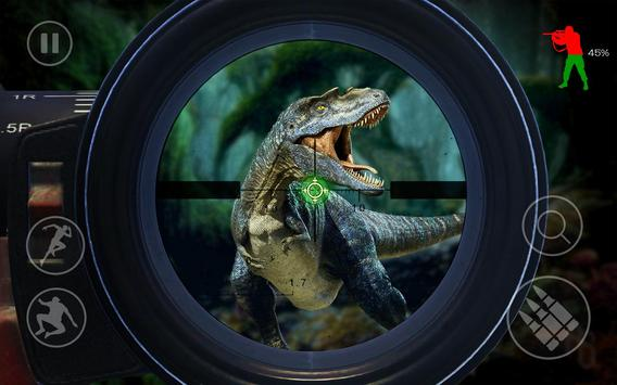 Best Dinosaur Hunter : Jurassic Survival Shooting screenshot 12