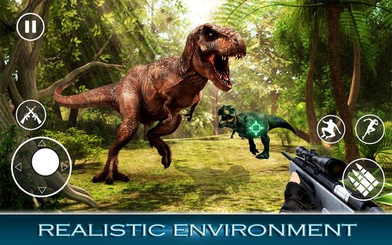 Best Dinosaur Hunter : Jurassic Survival Shooting screenshot 1
