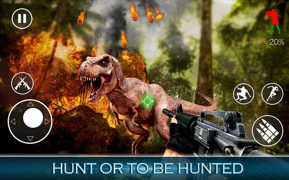 Best Dinosaur Hunter : Jurassic Survival Shooting screenshot 8