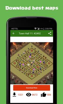 Maps of Clash of Clans screenshot 3