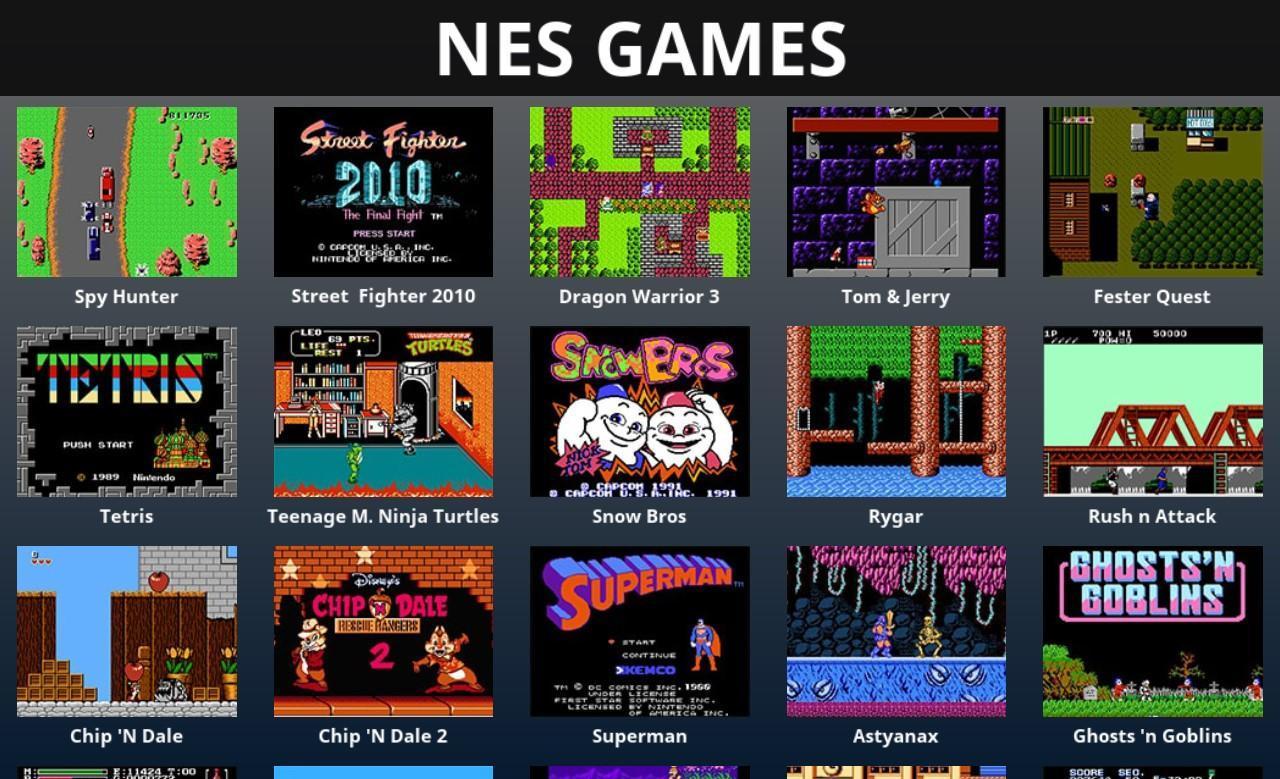 NES Games - NES Emulator for Android - APK Download