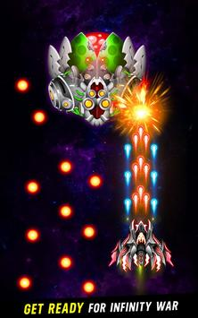 Space shooter - Galaxy attack - Galaxy shooter تصوير الشاشة 11
