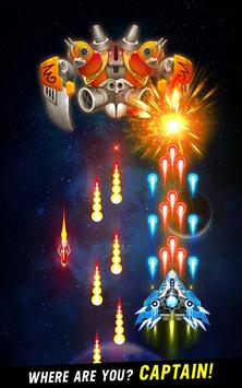 Space shooter - Galaxy attack - Galaxy shooter تصوير الشاشة 1