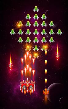 Space shooter - Galaxy attack - Galaxy shooter تصوير الشاشة 6
