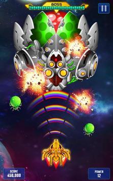 Space shooter - Galaxy attack - Galaxy shooter captura de pantalla 3