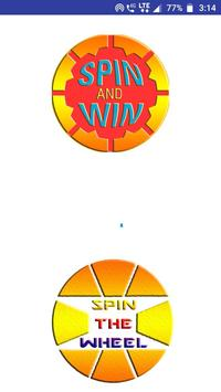Spin and Win : Spin the Wheel poster