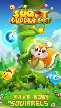 Bubble Shoot Pet poster