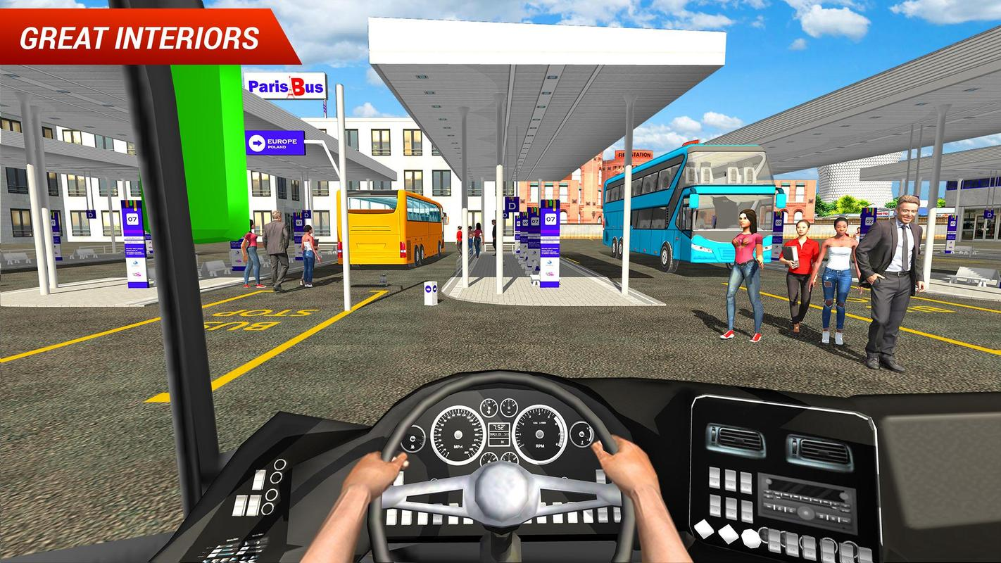 Coach Bus Driving Simulator For Android Apk Download
