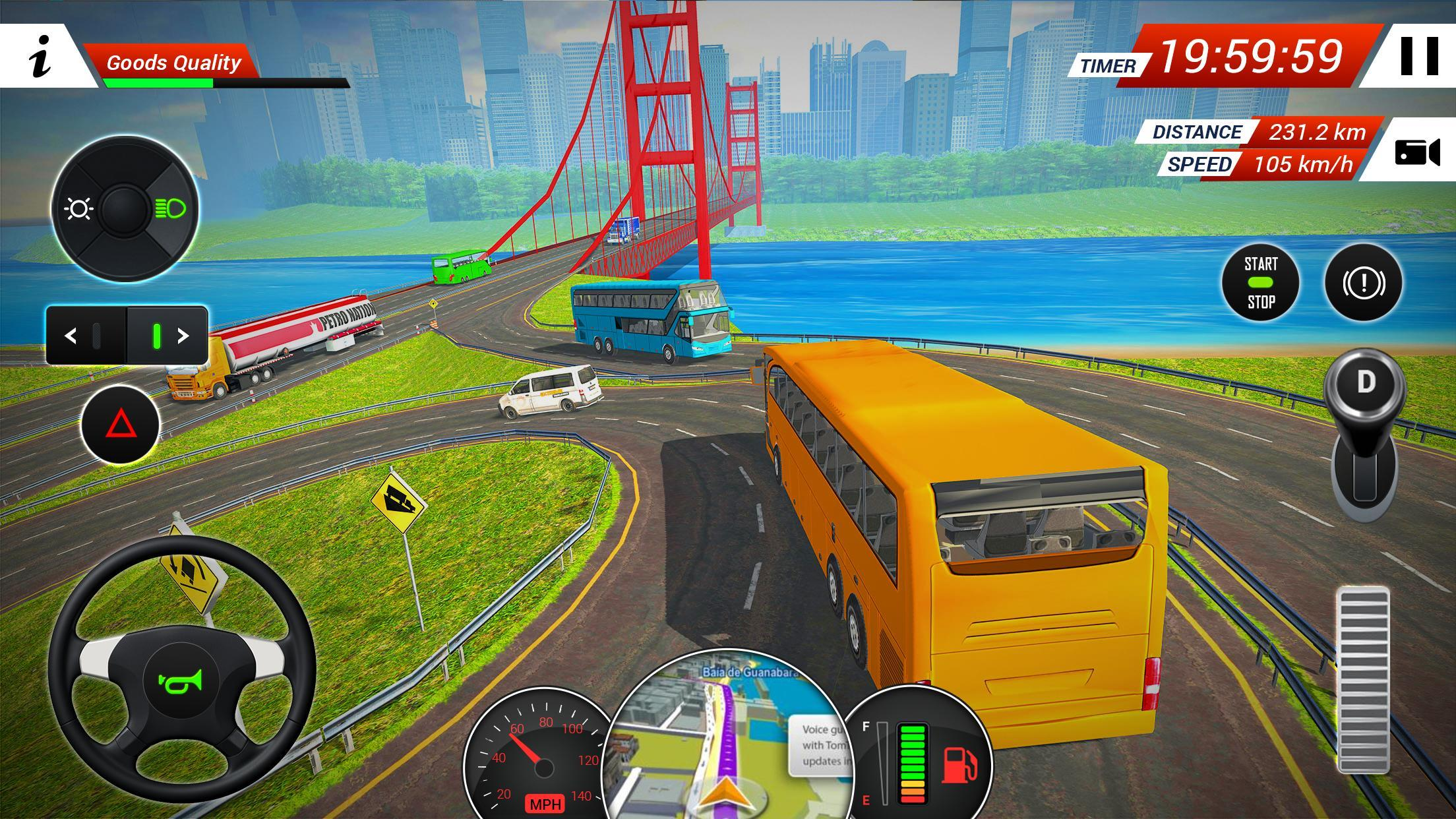 Coach Bus Driving Simulator for Android - APK Download