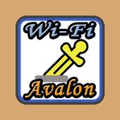 WiFi阿瓦隆 أيقونة