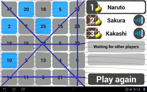 Wi-Fi Bingo Multiplayer screenshot 6