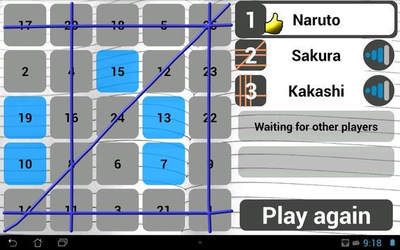 Wi-Fi Bingo Multiplayer screenshot 7