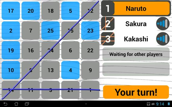 Wi-Fi Bingo Multiplayer screenshot 10