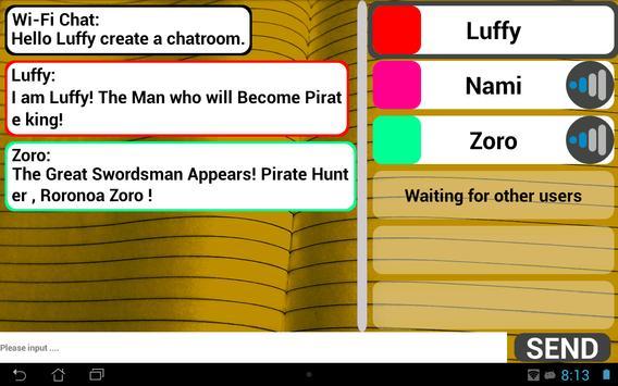 Wi-Fi Chat capture d'écran 4