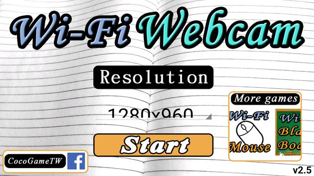 Wi-Fi Webcam poster