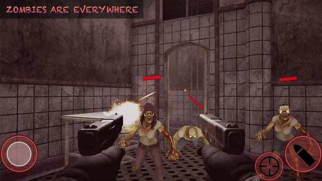 Zombie Hunter Apocalypse :Horror Fps Shooting 2020 screenshot 1