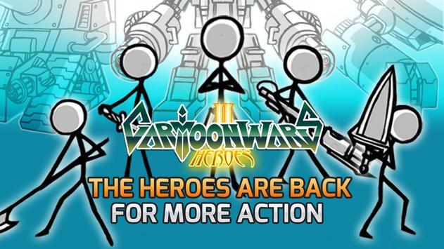 Cartoon Wars 2 poster