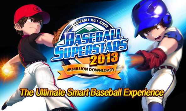 Baseball Superstars® 2013 Plakat