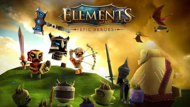 Elements: Epic Heroes poster